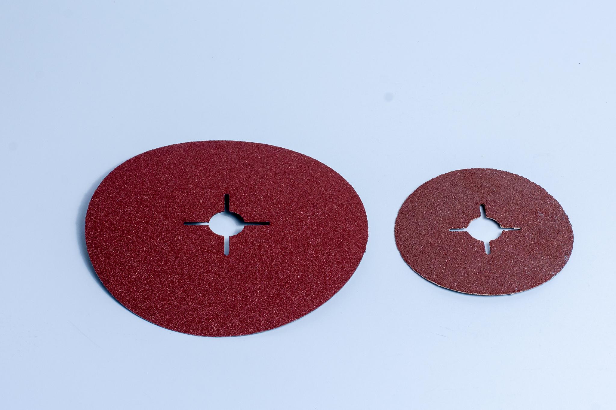 alox-fibre discs